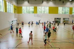 Eröffnung der Sportoberschule, Foto: R. Müller