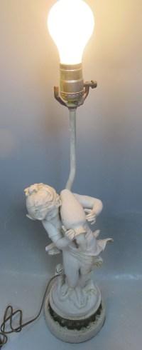 Auguste Moreau Lamp. Antique Auguste Moreau Old ...