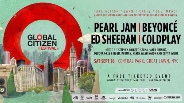 Global Citizen Festival Chronicles Of