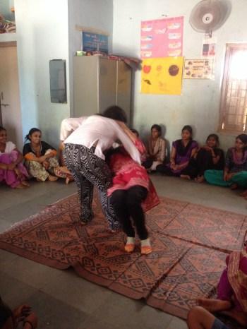 A judo lesson for women's empowerment.