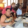 Laura, Tanja, Fr. Luxo - Summer Session planning