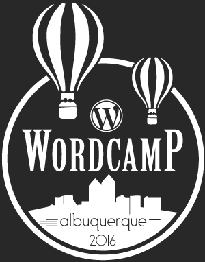 WordCamp Albuquerque graphic design