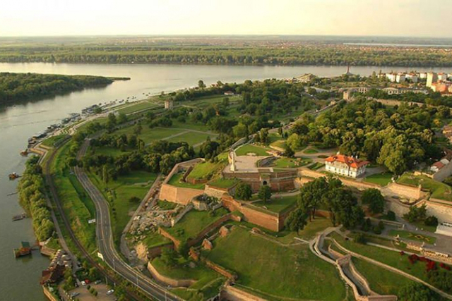Kalemegdan Air Photo
