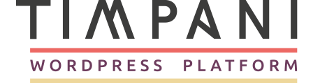 Timpani logo sponsor WordCamp london 2016