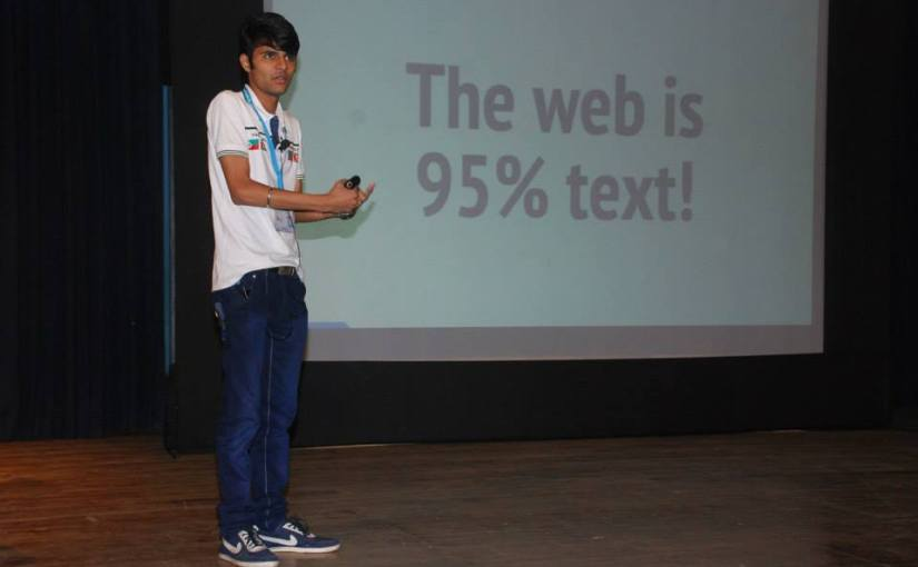 Story of a young speaker at WordCamp Mumbai
