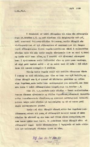 Beiðni Búnaðarfélags Íslands til atvinnu- og samgönguráðuneytisins um að taka Galloway-kálfinn úr sóttkví á Blikastöðum.