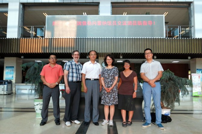 the visitors and our hosts in Huaqiao