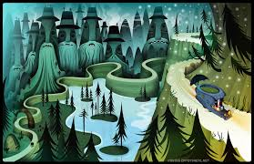 the wild forest