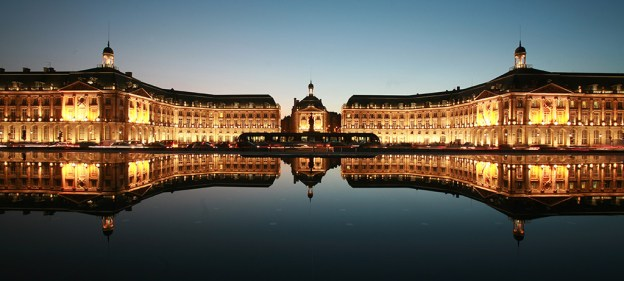 Bordeaux de nuit, Place de La Bourse - Photo Thomas Sanson