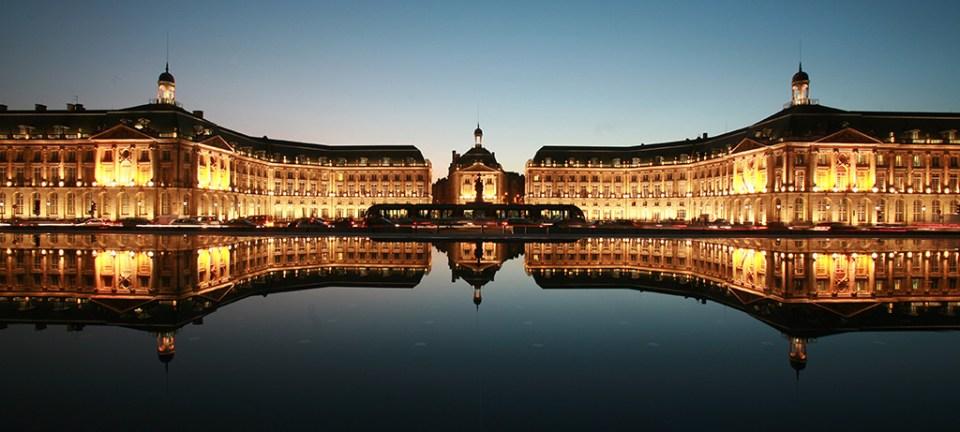 Bordeaux de nuit, Place de La Bourse - Photo Thomas Sanson