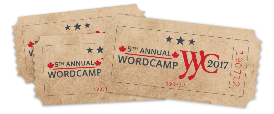 WordCamp Tickets on sale now