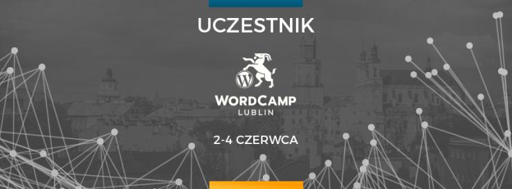 WordCamp Lublin 2017 - uczestnik