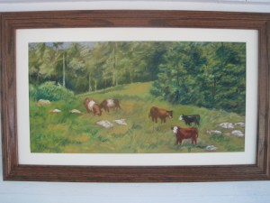 Cow Are You_ (pastel)