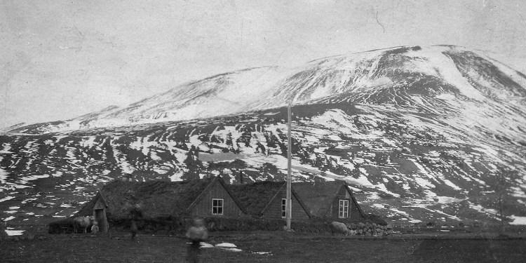 Kvíabekkur 1921. Mynd: Ljósmyndasafn Þingeyinga