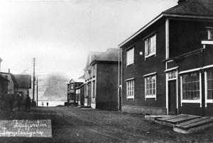 Hrannargata um 1920