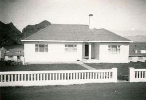 Goðasteinn á árunum 1950-1960. Suðurhlið, horft í norður.