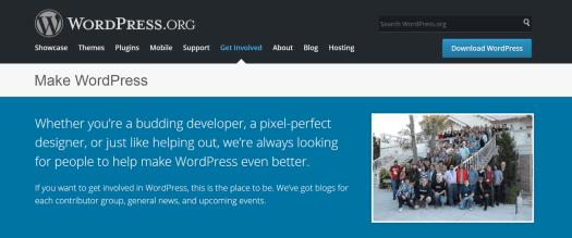 image of Make WordPress Homepage