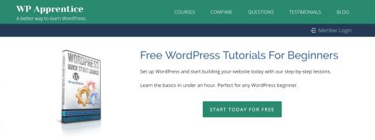image of WordPress tutorial for beginners