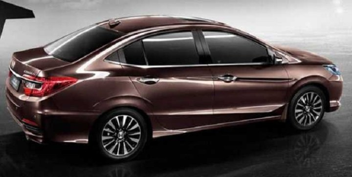2016 Honda City side view