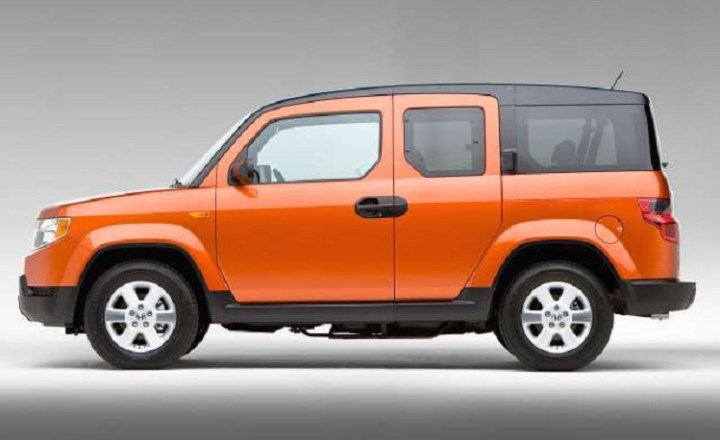 2016 Honda Element side view
