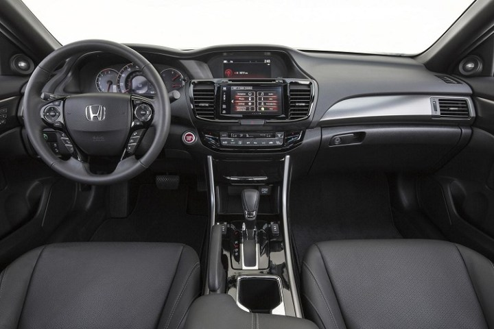 2017 Honda Accord Coupe interior
