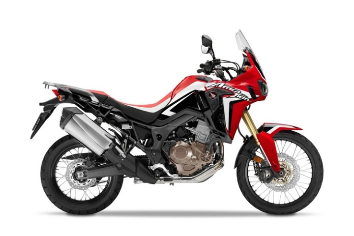 2016 Honda Africa Twin side view