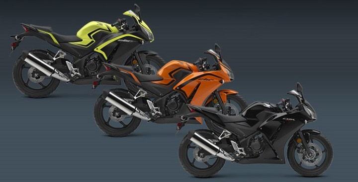 2016 Honda CBR300R colors