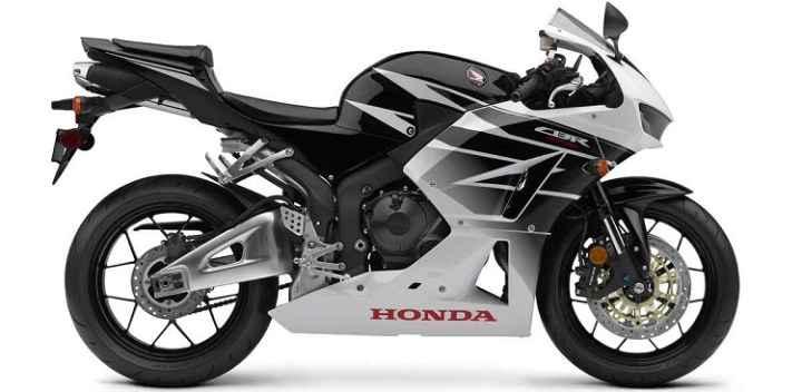 2016 Honda CBR600RR side view