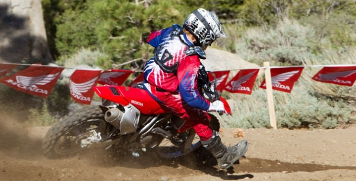 2016 Honda CRF150R rear view