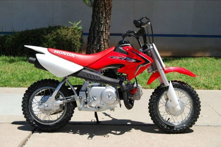 2016 Honda CRF50F side view