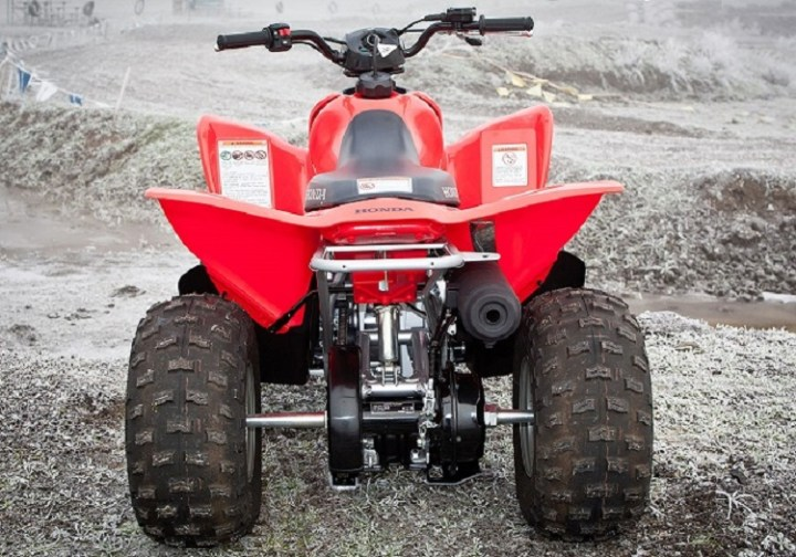 2016 Honda TRX90X rear view