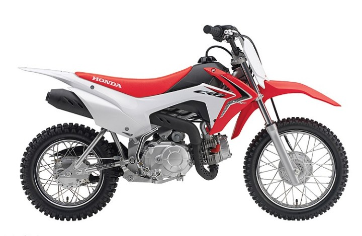 2016 Honda CRF110F side view