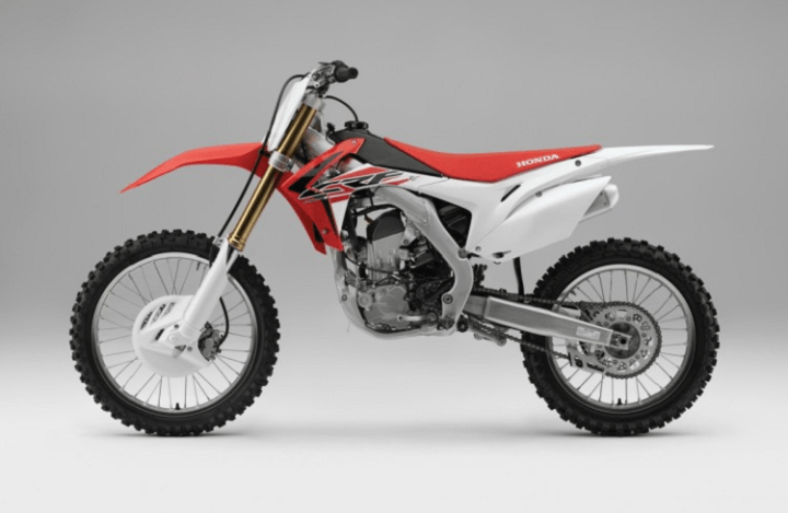 2016 Honda CRF250R side vie