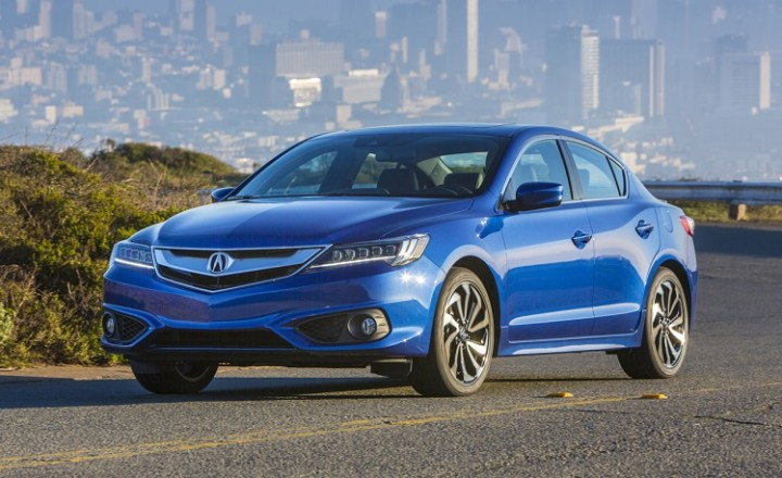 2018 Acura ILX front view