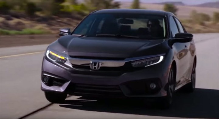 2018 Honda Civic Hybrid front view