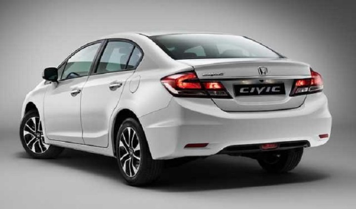 2018 Honda Civic Hybrid rear view