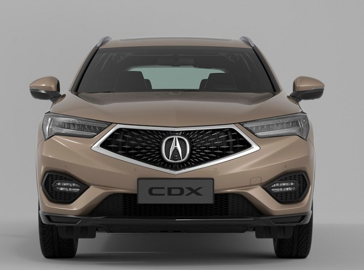 2018 Acura CDX front view