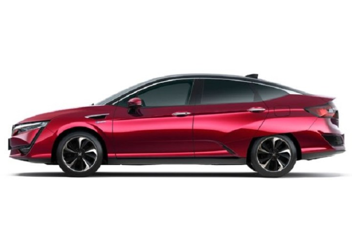 2018 Honda Clarity side view