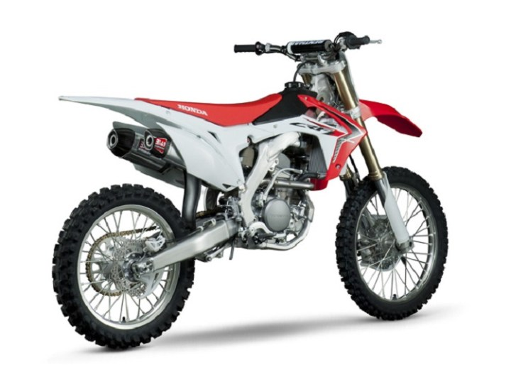 2017 Honda CRF250R rear view