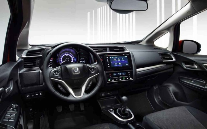 2019 Honda Fit interior