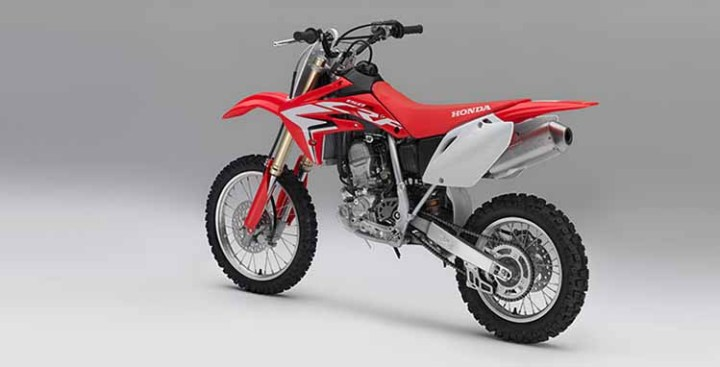 2018 Honda CRF150R rear