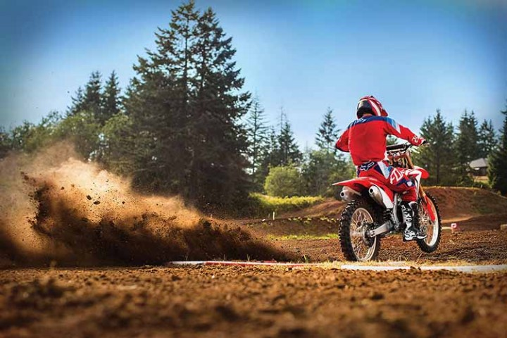2018 Honda CRF250X rear