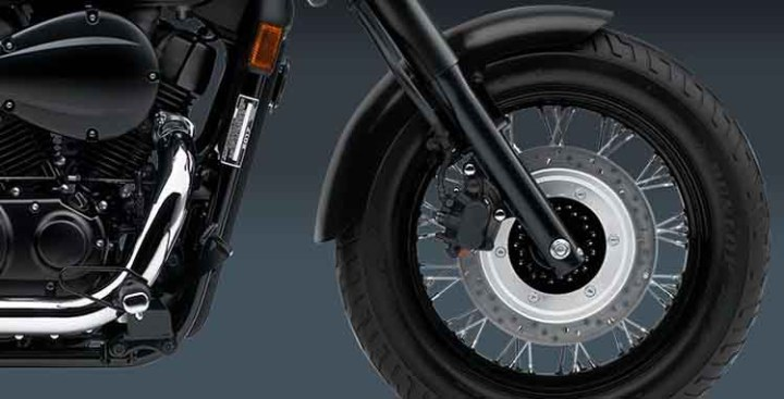 2018 Honda Shadow Phantom wheel