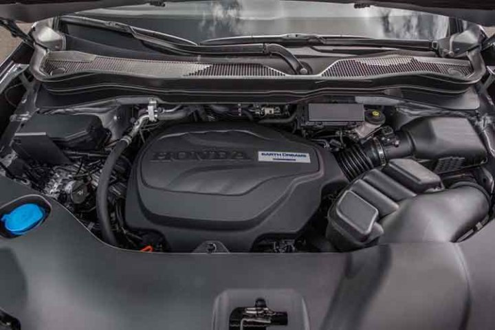 2019 Honda Ridgeline engine