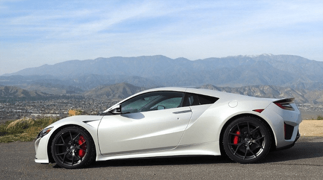 2020 Acura NSX Type R side vuew
