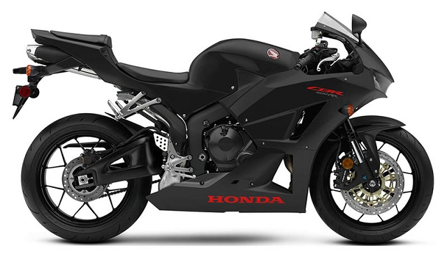 2020 Honda CBR600RR side view