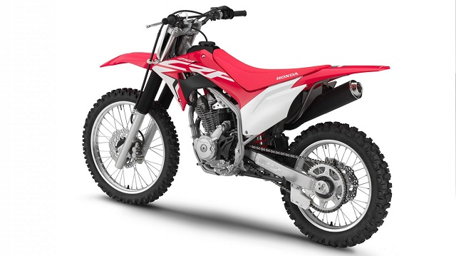 2020 Honda CRF250F rear