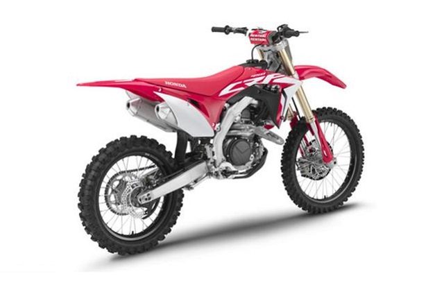 2020 Honda CRF450R rear