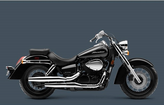 2020 Honda Shadow Aero side