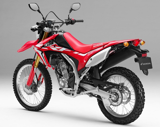 2020 Honda CRF250L rear